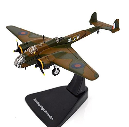 FLOZ WWII Handley Page HP.52 Hampden Medium Bomber 1:144 diecast Aircraft plane (Wwii Model Plane)