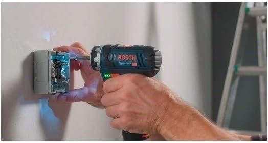 2 batteries 2 Ah en carton 06019f6005 Visseuse GSR 12v-15 FC LI Professional flexiclick