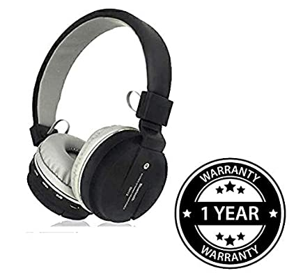 76195860f4d Shaarq SH-12 Wireless/Bluetooth Headphone Bluetooth: Amazon.in: Electronics