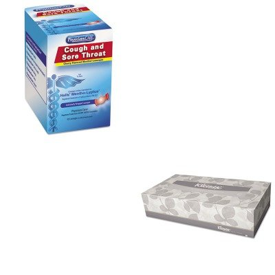 KITACM90306KIM21606CT - Value Kit - KIMBERLY CLARK KLEENEX White Facial Tissue (KIM21606CT) and Physicianscare Cough and Sore Throat (ACM90306)