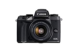 Canon EOS M5 Mirrorless Camera Kit EF-M 15-45mm f/3.5-6.3 IS STM Lens Kit - Wi-Fi Enabled & Bluetooth
