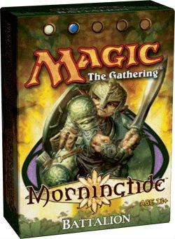 Theme Lorwyn Deck - Magic the Gathering: MTG Lorwyn: Morningtide Theme Deck - Battalion (Blue/White)
