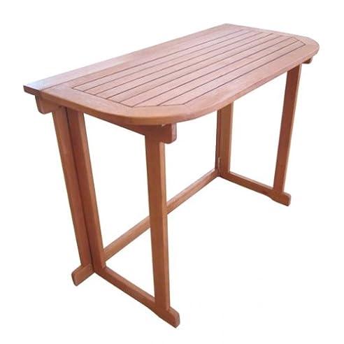 Gartentisch holz klappbar  Amazon.de: Balkontisch ARUBA 100 x 50, klappbar Gartentisch ...