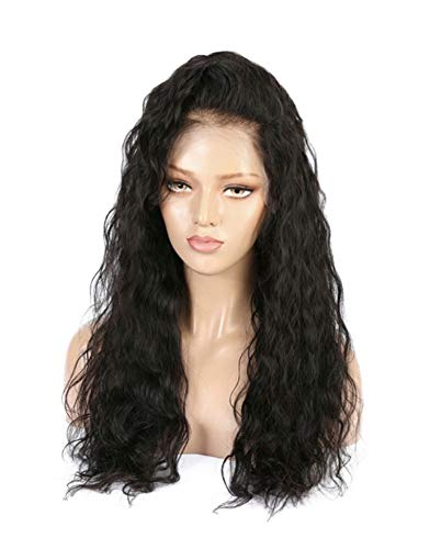 Everydaywigs Natural Wave Virgin Human Hair Lacefront Wig with Baby Hair, 16 Inch, Petite