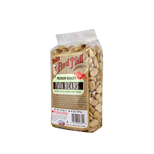(Bobs Red Mill Fava Beans - 20 oz - Case of 4)