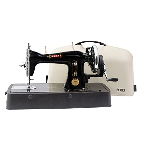 Usha Anand Straight Stitch Composite Sewing Machine Black Amazon Cool Hay Day Sewing Machine