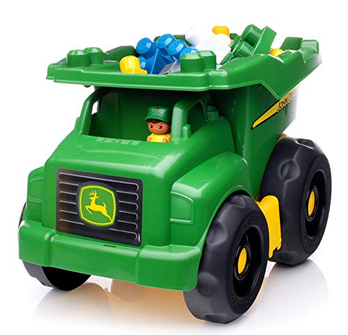 Mega Bloks John Deere Dump Truck - John Deere Nascar