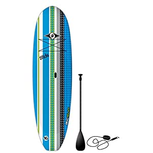 BIC Sport Slide SUP Stand Up Paddleboard Package