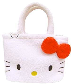 6e361f9bbeac Hello Kitty  funa bag red fluffy Sanrio series (japan import ...