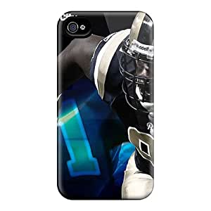 AaronBlanchette Iphone 4/4s Shock-Absorbing Cell-phone Hard Covers Unique Design Vivid St. Louis Rams Pattern [YHw5550xVbI]