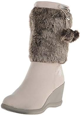 U.S. Polo Assn.(Women's) Noelle Boot, Grey, 9 M US