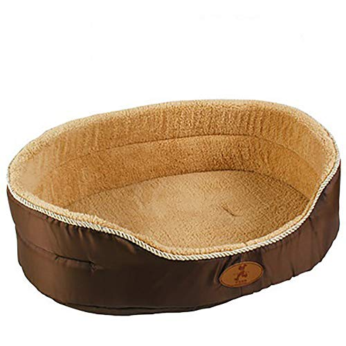 Donut Dog Bed Luxury (Luxury Suede Dog Beds Cat Nest Warm Soft Washable Mat for Cat and Dog,B,L)