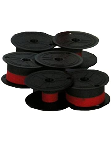 vhbw Nastro inchiostrato per Olivetti Lexicon Electrica 80 E stampante ad aghi nero//rosso