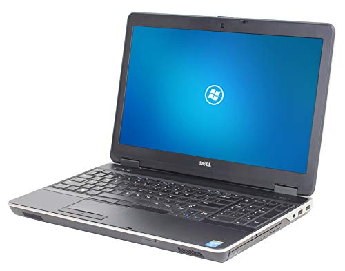 Dell Latitude E6540 15.6in Laptop, Intel Core i7 4600M 2.9Ghz, 16GB DDR3 RAM, 512GB SSD Hard Drive, Full HD 1080p, HDMI, Webcam, DVDRW, Windows 10 Pro x64 (Renewed) ()