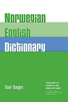 English dictionary norwegian