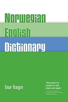 English dictionary norwegian