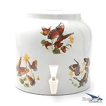 Bluewave PKDD411 Animals & Wildlife Design Water Dispenser Crock, Butterfly