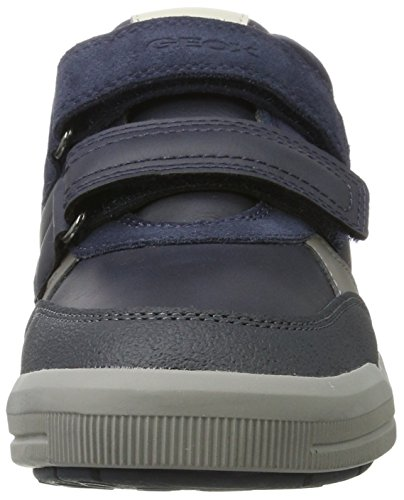 Geox Unisex Adults' J Arzach a Low-Top Sneakers Blue (Navy/Grey) CGr4P8L