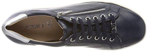 Caprice Multi silv Azul Mujer 854 23606 De Zapatos Derby Para ocn Cordones r71fSvwr