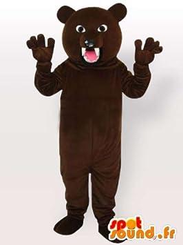 Disfraz de oso feroz: Amazon.es: Juguetes y juegos