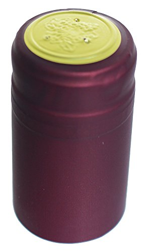 - Home Brew Ohio Burgundy PVC Wine Shrink Capsules 30 count