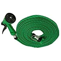 WYANE ENTERPRISES Plastic 10m Water Spray Jet Gun Hose Pipe for Garden/Car/Bike/Pet Wash(Multicolour)