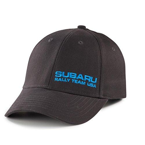 (Genuine Subaru Rally Cotton Twill Cap Grey Gear Hat Impreza STI WRX Racing JDM)