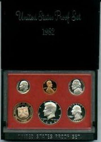 1982 U.S. Proof Set in Original Government Packaging