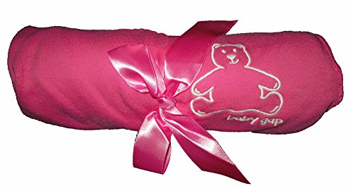 baby-gap-girls-soft-pink-white-bear-bow-reversible-blanket