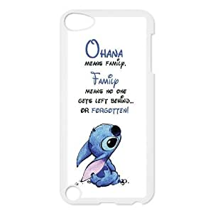 [StephenRomo] FOR Ipod Touch 5 -Ohana Means Family - Funny Stitch PHONE CASE 16
