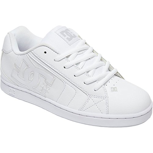 Dc Mens Net Se Chaussure De Skate Blanc / Blanc