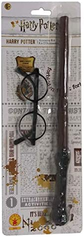 Con Licenza Harry Potter Bacchetta Magica e occhiali Kit