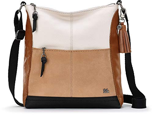 Wholesale Handbags Womens (The Sak Unisex Lucia Crossbody Neutral Block One Size)