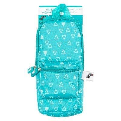 Yoobi153; Mini Backpack Pencil Case - Aqua Chevron Aqua Chevron