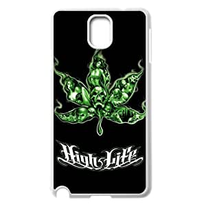 Samsung Galaxy Note 3 Phone Case for Marijuana Leaf grass pattern design