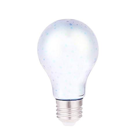 Starnearby Bombilla LED Edison para chimenea, E27, diseño de fuegos artificiales, para decoración