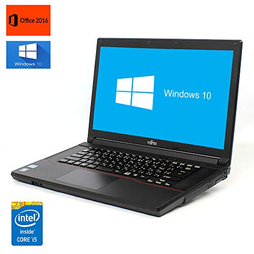 注目ブランド 【Win 10搭載】【Microsoft Office 2016搭載【Win】FUJITSU B07NP9PRLB LIFEBOOK/A574H/第四世代Core i5 2.6GHz/メモリー:8GB/SSD:480GB/DVD/大画面15.6インチ/無線LAN搭載/USB3.0/HDMI/中古ノートパソコン (メモリー:8GB/SSD:240GB) B07NP9PRLB メモリー:8GB/SSD:240GB, インクマスターの一本堂:3e187b64 --- ciadaterra.com