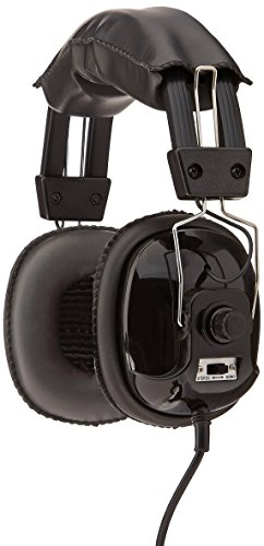 Detector Head - Bounty Hunter Metal Detector Binaural Headphone Head-PL