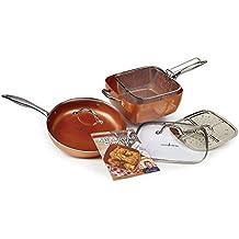 "Copper Chef 11"" XL Cookware set (7 PC)"