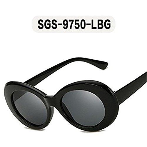 gafas mujeres sol la sol moda Tortuga OMAS negro Marco gafas de hombres de diseñador gafas nuevas ovales marca Tortuga de Marrón gafas peso mujeres 2018 de AfwFavT