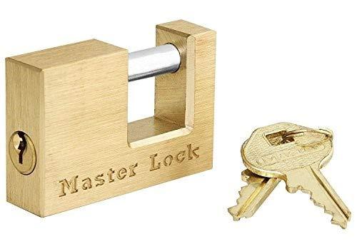 Master Lock 605DAT Trailer Coupler Padlock - 4 Pack - Keyed Alike Colored Padlocks