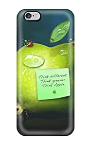 fashion case Anti-scratch And Shatterproof Think Green Apples cell phone case cover For iphone 5c High Quality tiznm0P14xV Tpu case cover