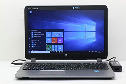 【中古】 hp ProBook 450 G2 Core i5 4210U 1.7GHz/8GB/256GB(SSD)/Multi/15.6W/FWXGA(1366x768)/Win10 B07HFWX4MP