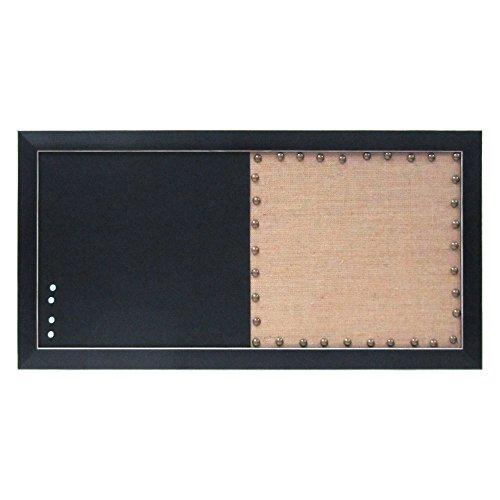 DesignOvation Combination Organization Pinboard Chalkboard