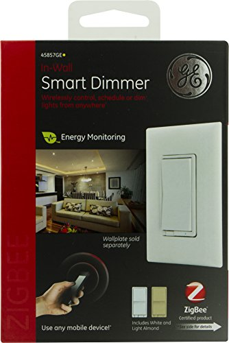 buy ge in wall smart dimmer switch white 45857ge online compare prices pri. Black Bedroom Furniture Sets. Home Design Ideas