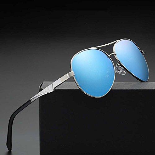 Solar Lente polarizada de Gafas Las Gafas Conducción Vendimia Gafas Providethebest piloto de Sol Sol de Protección Lentes Coolsir de UV Bloqueador de 5 la vw1RqZz