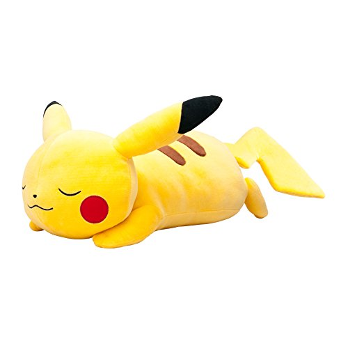 Pokemon Center Original BIG Size Sleeping Pikachu plush doll