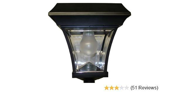 Solar Lamp Post Light Garden Sun PL2200