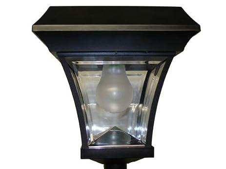 Amazon solar lamp post light outdoor post lights garden solar lamp post light aloadofball Gallery