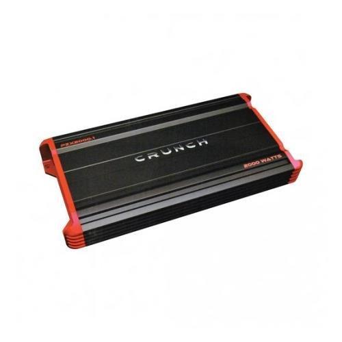 Crunch PZX20001 Monoblock Amplifier, 2000W